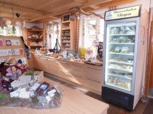 Blick in unseren Bauernladen