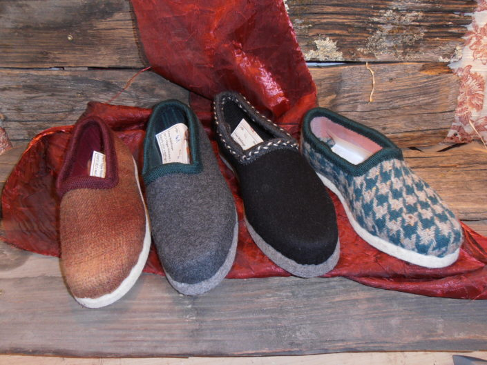 Patschen für warme Füße